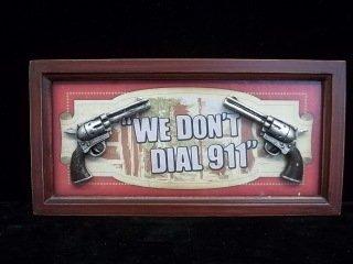 2: 3-D 911 Sign