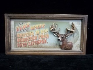 4: Deer Huntin 3-D sign