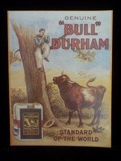 16: Bull Durham Tobacco Sign