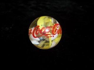 77: Jumbo Coca Cola Shooter marble