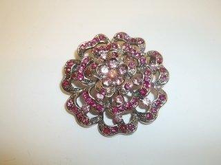 8: Pink Ice Brooch