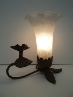 2: Bronze Hummingbird Lamp