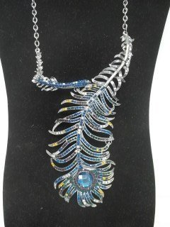 25: Gorgeous Peacock Necklace
