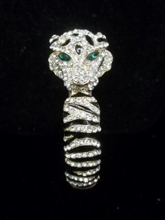 43: Great Rhinestone Tiger bracelet