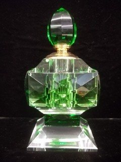 97: Emerald Green Crystal Perfume X-Large