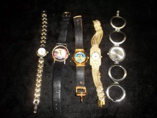 4: 5 Watch Lot