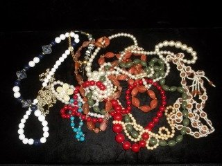 11: Big Necklace Lot