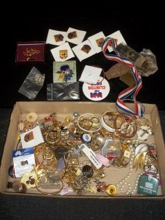 13: Costume Jewelry & More Lot