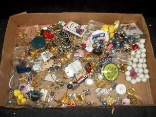 14: Costume Jewelry & More Lot