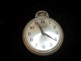 17: Westclox Pocket Watch