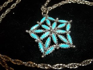 21: Turquiose Pendant Necklace