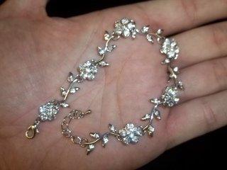 9: Rhinestone Tennis Bracelet