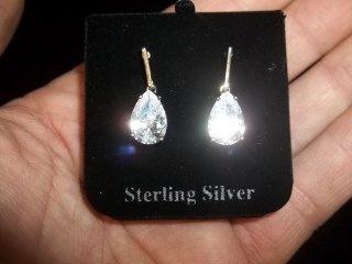 19: Sterling Silver Earings