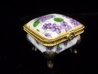 21: Hand Painted Jewel Box