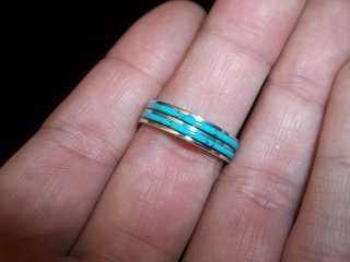 289: Beavis Massie Zuni Sterling Ring