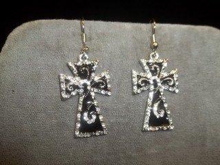 24: Nice Cross Earings