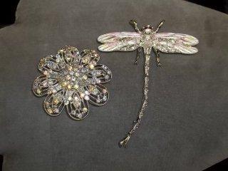 2: Dragon Flower Brooch Lot