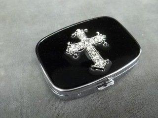 12: Enamled Cross Box