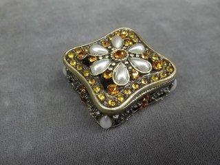 13: Jeweled Amber Jewel Box