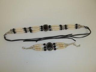 23: Native American Style Choker & Bracelet
