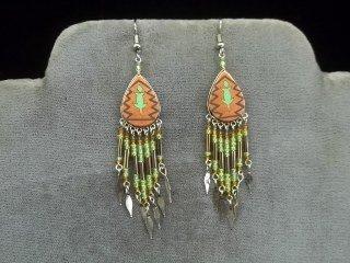 24: Native American Style Earrings
