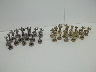 295: Complete 32 Piece Greek Mythology Chess Set
