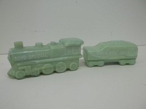 2: Boyd Special Jadite Engine & Tender