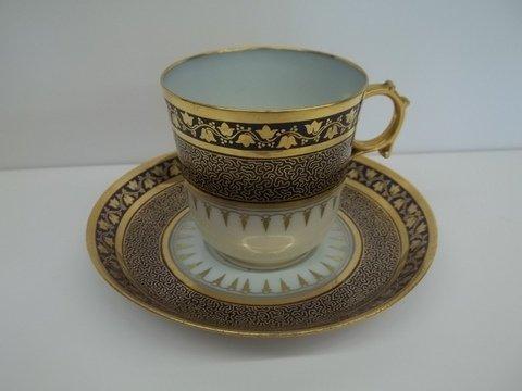 17: Sevres Chateau Destuileries Cup & Saucer