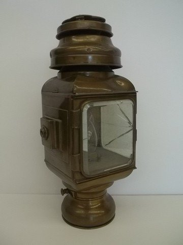 23: Old Motor Lame Brass lantern Lamp