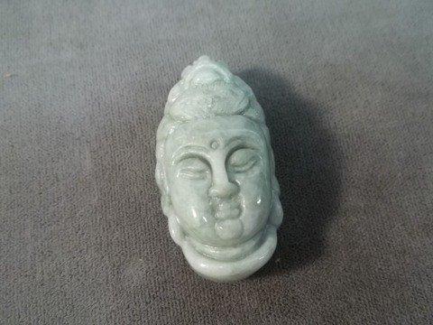 "10: Oriental Jade Godess Pendant 2"""
