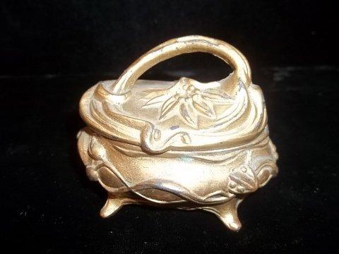 """23: Flower Basket Jewelry Box 3"""""""