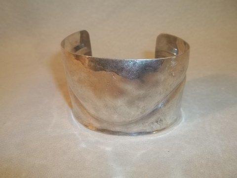 2: Large Sterling Silver bracelet