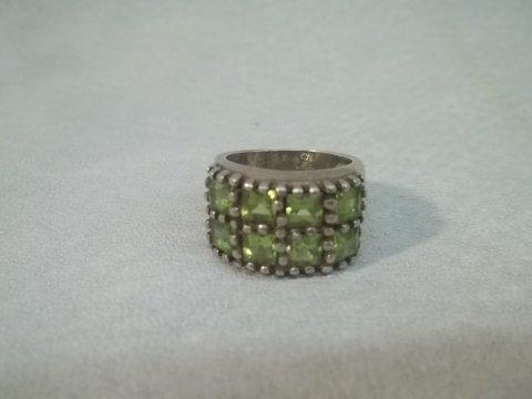 5: Sterling Silver Gemstone Ring