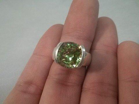 20: Sterling Silver Gemstone Ring