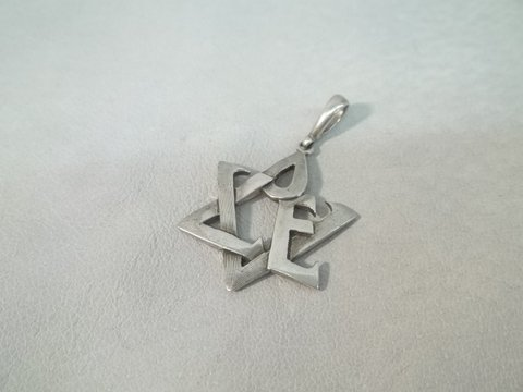 23: Nice Solid Sterling Silver Pendant