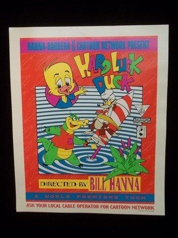 252: Cartoon Network Hard Luck Duck Poster