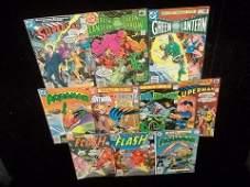 273 10 1970s DC Comic Books Batman Superman Flash