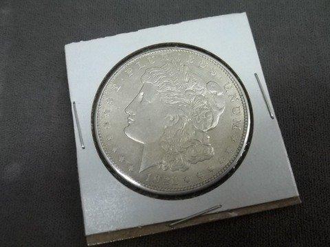 11: Nice 1921 D US Silver Morgan Dollar