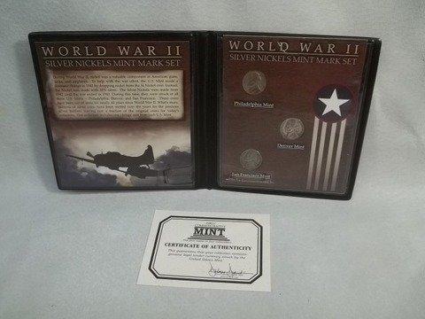 14: WWII Silver nickel S Set