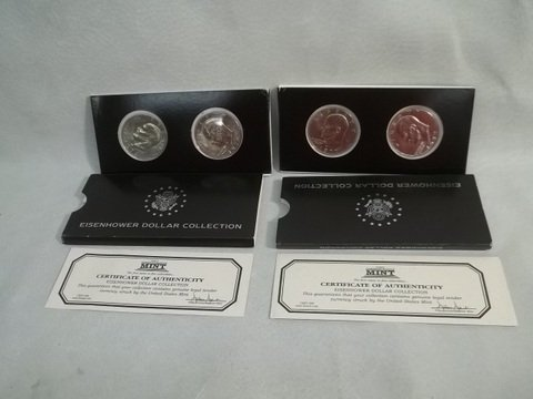 15: Eisenhower US Dollar Coin Collection