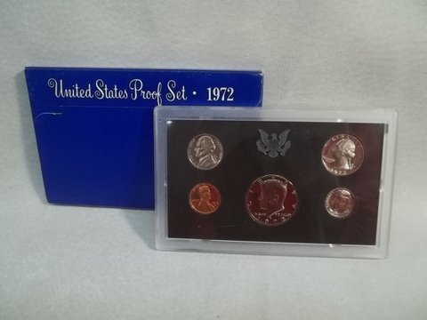 """23: 1972 US Silver Proof Set """"S"""""""