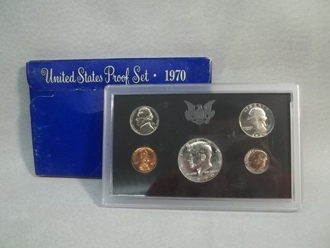 """24: 1970 US Silver Proof Set """"S"""""""