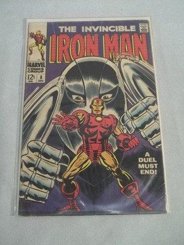 276: 1960's The Invincible Ironman Comic Book #8