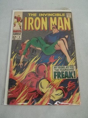 440: 1968 The Invincible Iron Man #3 Comic Book Marvel