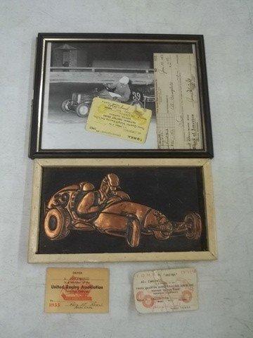 1: 1950's Midget Car Racing Lot California