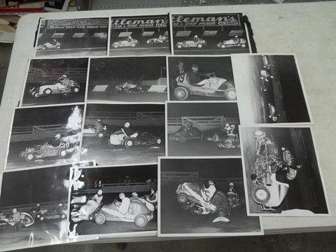 2: 1953 Bill Boaz Midget Car Racing Photos CA