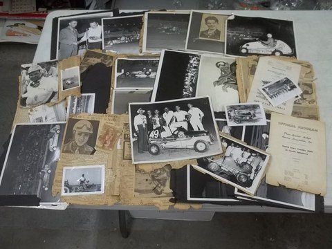 3: 1940's-50's California Midget Car Racing Items