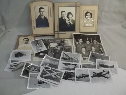4: Old Military Photos & More Lot