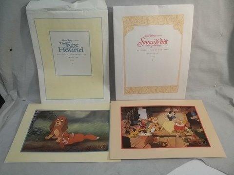 7: 1994 Disney Lithographs Snow White Fox Hound