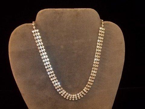 10: Vintage Rhinestone Necklace